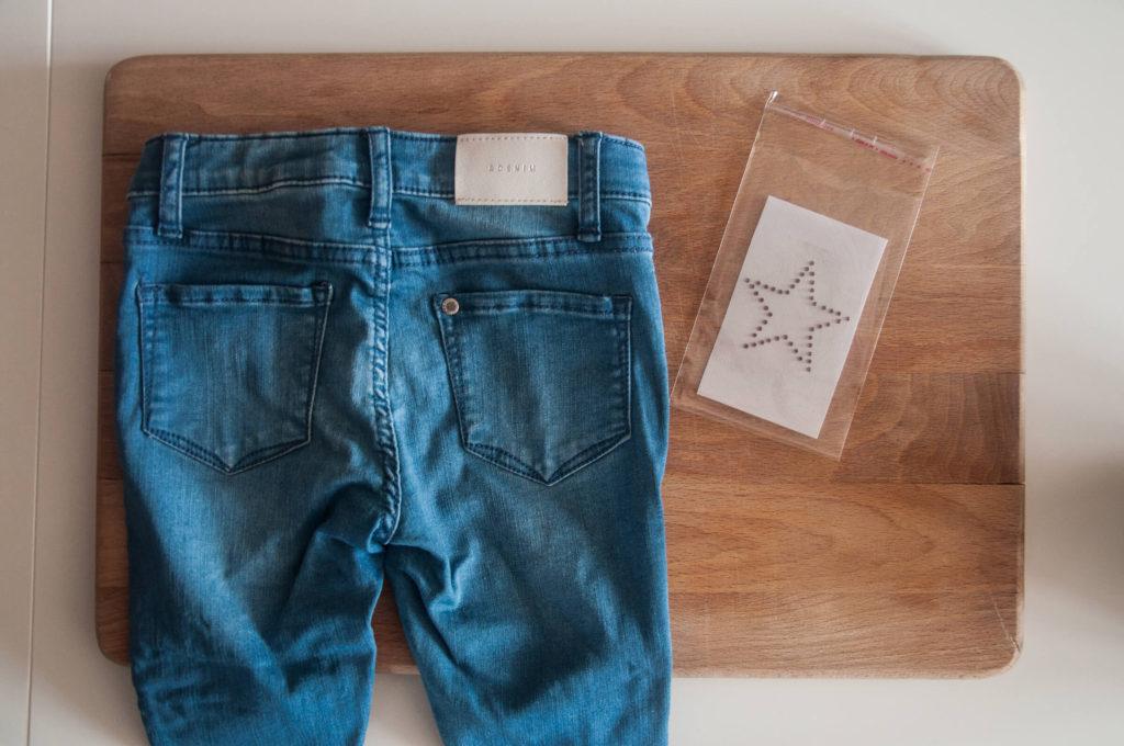 Stjernemotiv til jeans