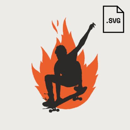 SVG Skater