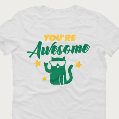 You're awesome kat strygemærke