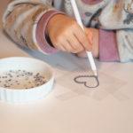 Rhinstensstrygemærke med magic pen